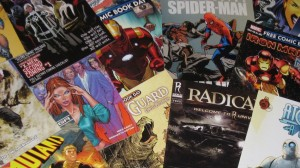 Pile of Comics 2 Ad
