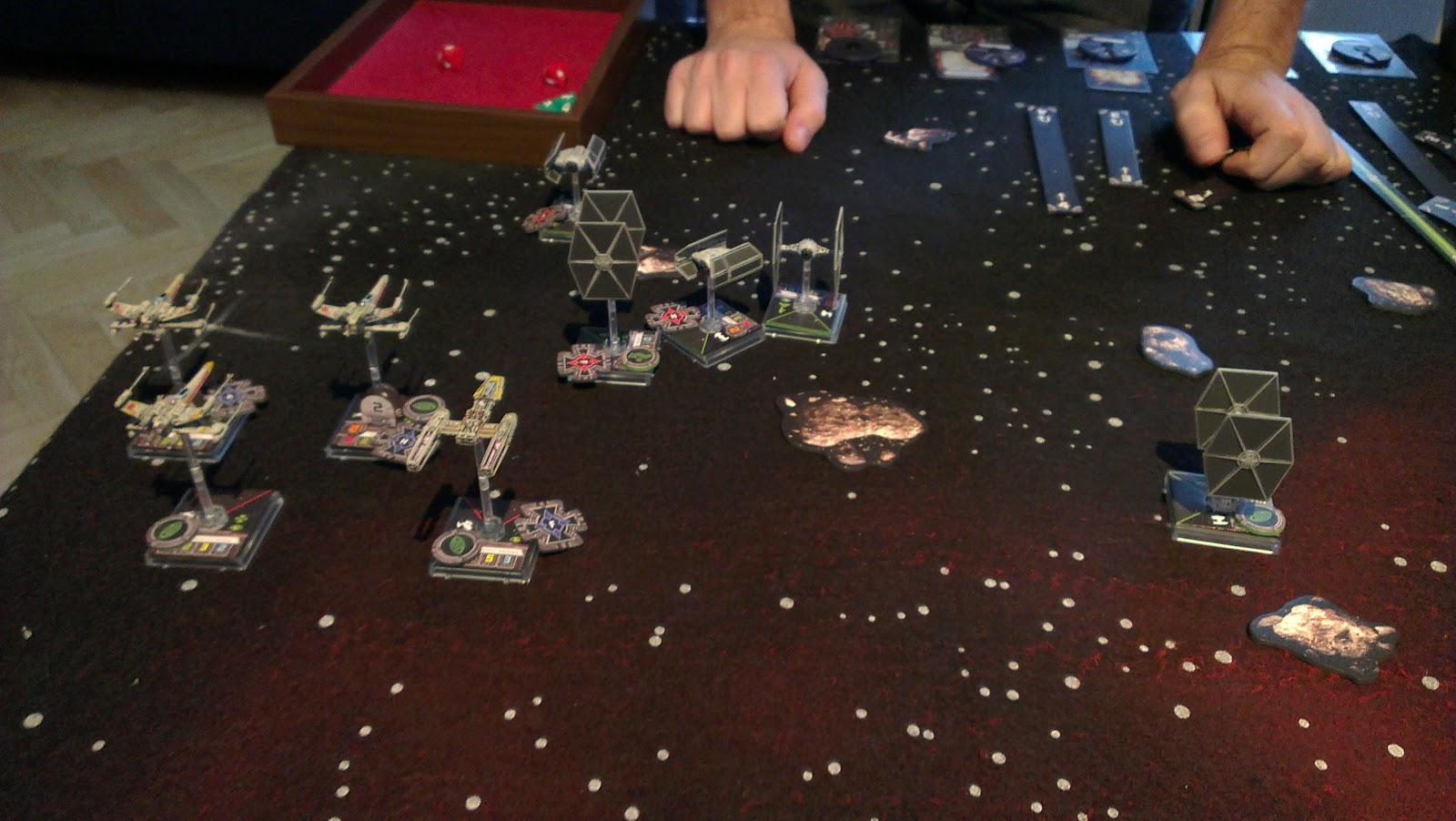 Star Wars X-wing Gaming!!