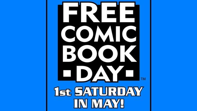 FREE COMIC BOOK DAY!!