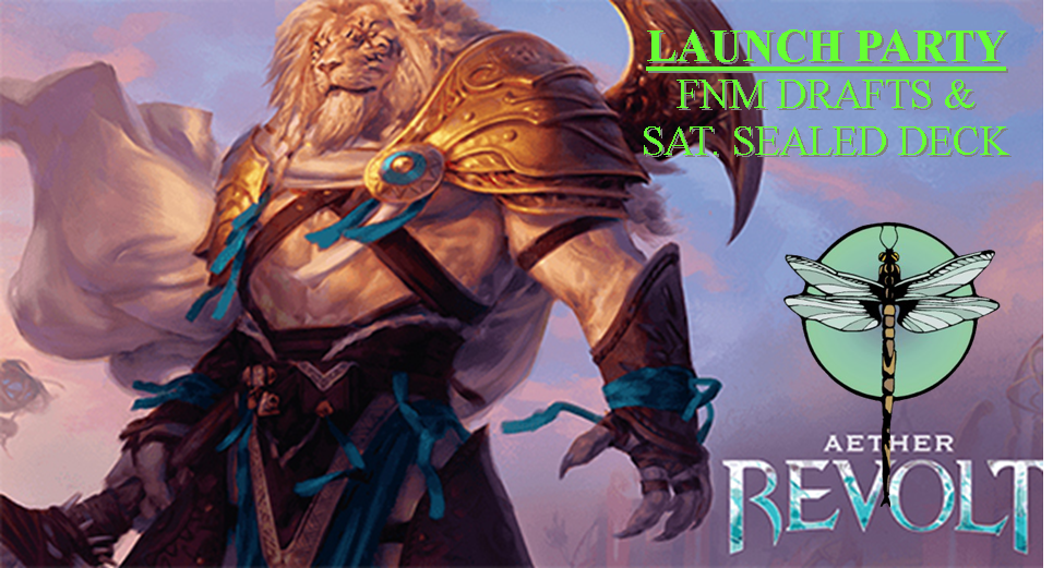 Aether Revolt Prerelease & Launch Events